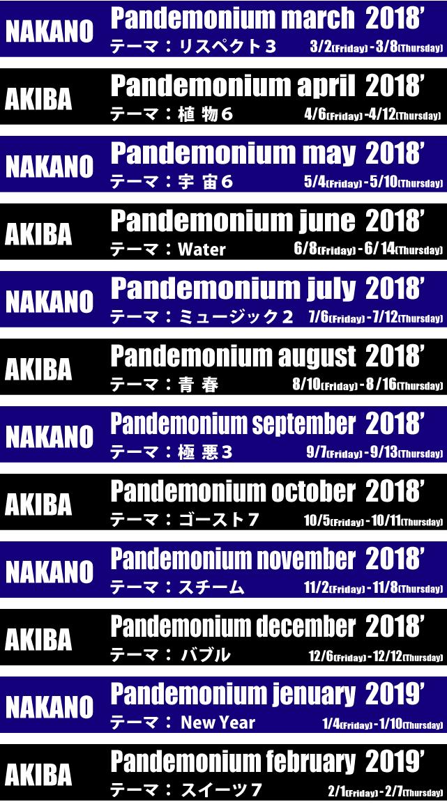 pandemonium monthly
